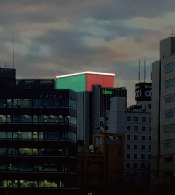 島根銀行新本店ビル屋上【テスト...